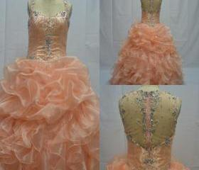 Organza Ball Gown Q..