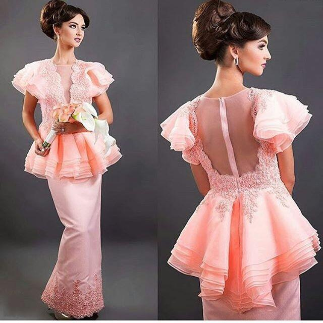 Special Design Prom Dresses With Short Dresses Ruffles Dubai Chiffon ...